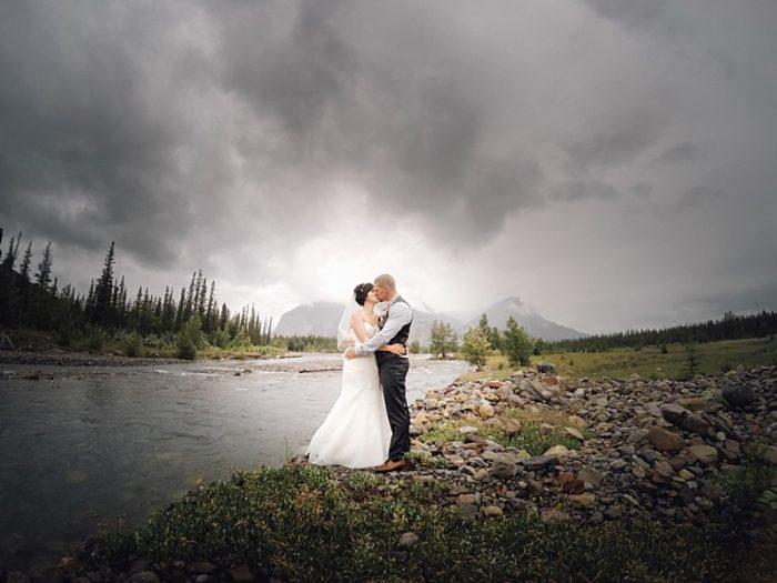 Alberta Mountain Wedding   Alderman Photography