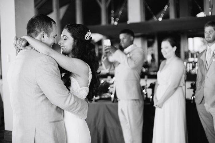 first dance | Lake Tahoe Wedding | Eric Asistin Photographer