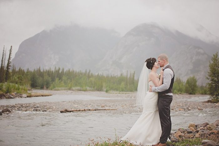 Alberta Mountain Wedding | Alderman Photography