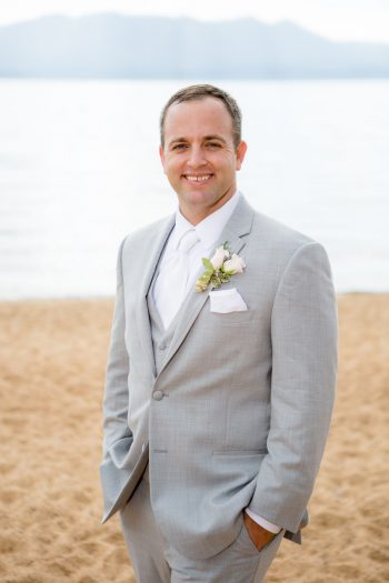 Lake Tahoe Groom | Lake Tahoe Wedding | Eric Asistin Photographer