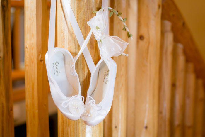 Flower girl shoes | Lake Tahoe Wedding | Eric Asistin Photographer