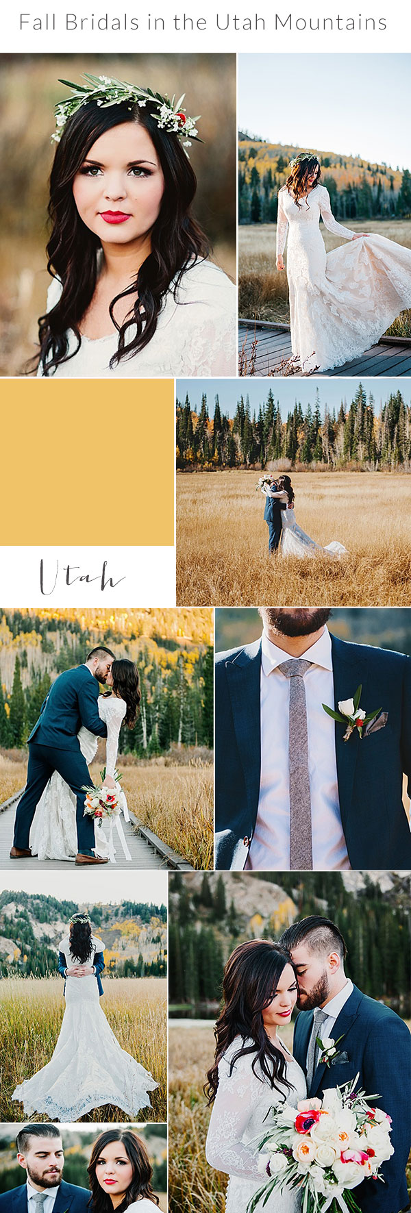 Gorgeous Fall Bridals In The Utah Mountains Lori Romney Photography