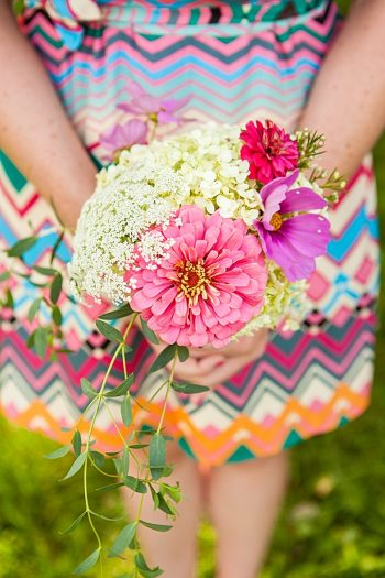Bouquet | Vermont Mountain Wedding | Alexix June Photography | Via MountainsideBride.com 0022