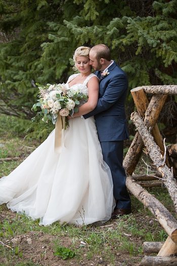 Watercolor Wedding Inspiration | Nordic Center Breckenridge Colorado | Sarah Roshan Wedding Photographer