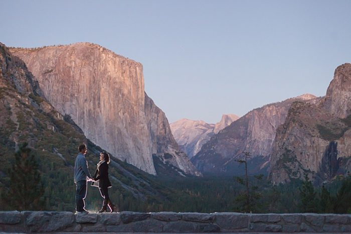 17 Fall Engagement In Yosemite | Bergreen Photography | Via MountainsideBride.com
