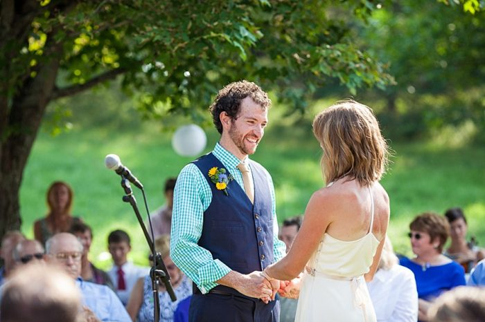 Ceremony | Vermont Mountain Wedding | Alexix June Photography | Via MountainsideBride.com 0037