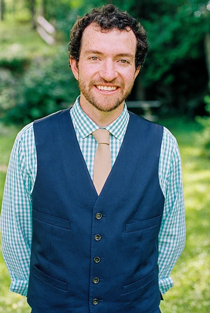 Groom |Vermont Mountain Wedding | Alexix June Photography | Via MountainsideBride.com 0003