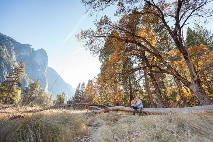 5 Fall Engagement In Yosemite | Bergreen Photography | Via MountainsideBride.com