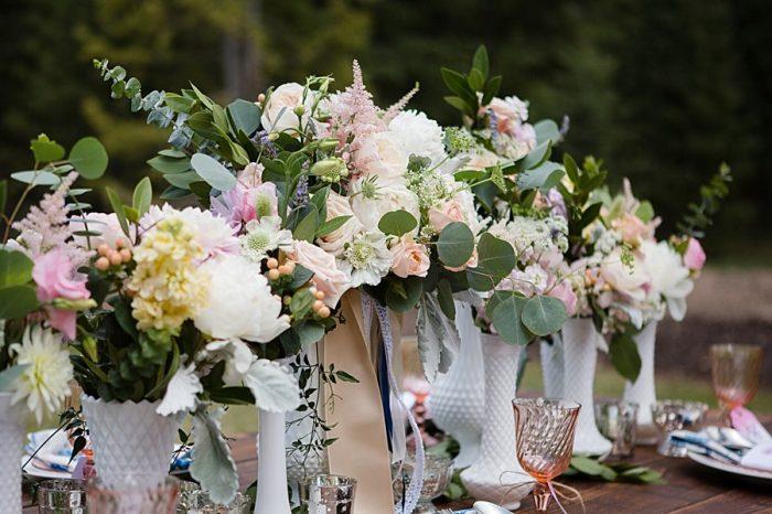picnic wedding inspiration | Watercolor Wedding Inspiration | Nordic Center Breckenridge Colorado | Sarah Roshan Wedding Photographer