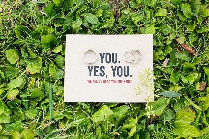 Place Card |Vermont Mountain Wedding | Alexix June Photography | Via MountainsideBride.com 0042