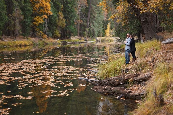 6 Fall Engagement In Yosemite | Bergreen Photography | Via MountainsideBride.com