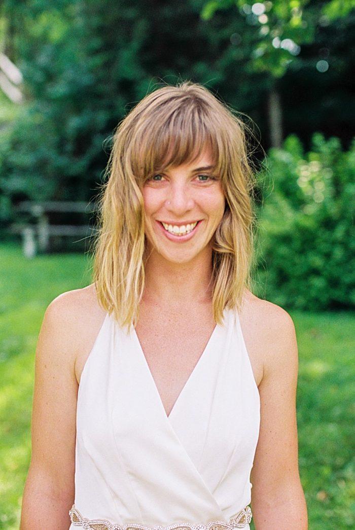 Bride | Vermont Mountain Wedding | Alexix June Photography | Via MountainsideBride.com 0002