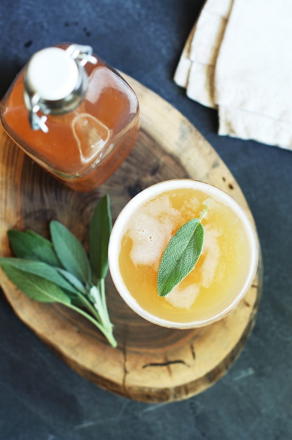 Citrus Sage Specialty Cocktail | Curated By Hey Wedding Lady | via Mountainside Bride