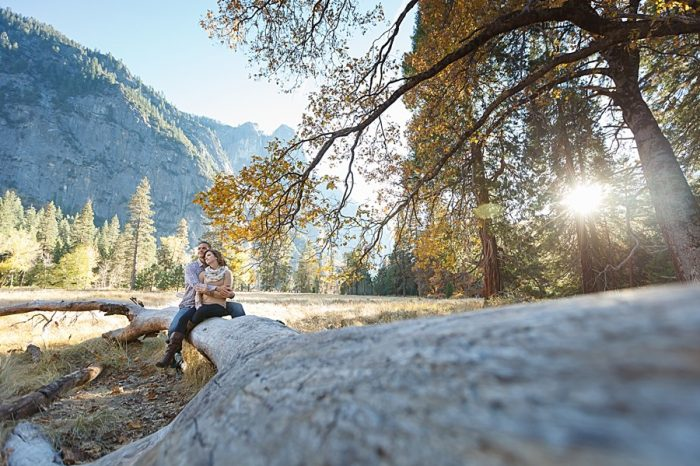 8 Fall Engagement In Yosemite | Bergreen Photography | Via MountainsideBride.com