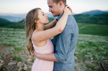 11 Utah Engagement With Pink Details | Amy Cloud Photography | Via MountainsideBride.com