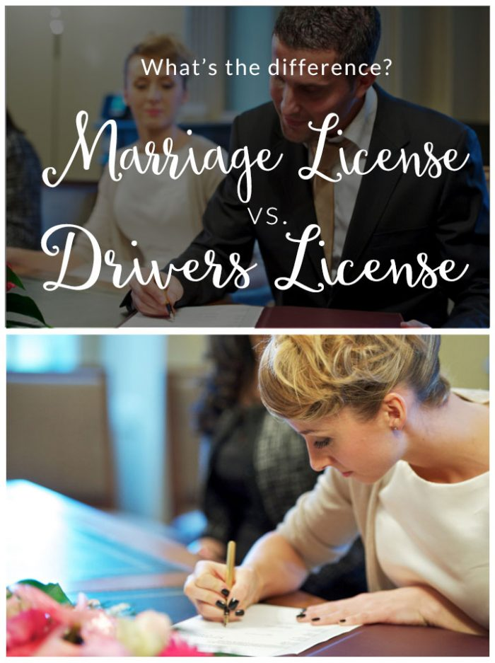12 Difference Between Marriage And Drivers License
