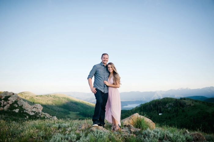 13 Utah Engagement With Pink Details | Amy Cloud Photography | Via MountainsideBride.com