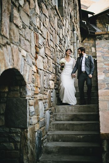 Castle Lady Hawke Wedding | Blue Bend Photography | Via MountainsideBride.com