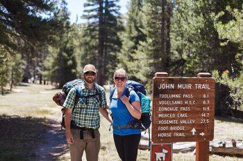 Backpacking Adventure Engagement | Bergreen Photography | Via MountainsideBride.com