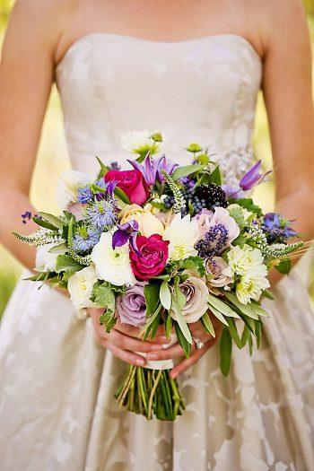 Bouquet For Mountain Weddings   Aspen Gold Utah Wedding Inspiration   Pepper Nix Photography   Via MountainsideBride.com