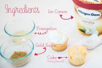 Frangelico Wedding Cake Shots Ingredients