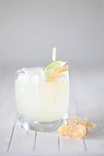 3 Ginger Rum Specialty Cocktail | By Hey Wedding Lady | Via MountainsideBride.com