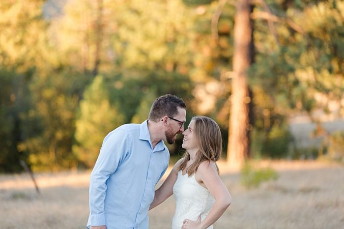 Idyllwild California Bridal Shoot | Nicki Metcalf Photography | Via MountainsideBride.com