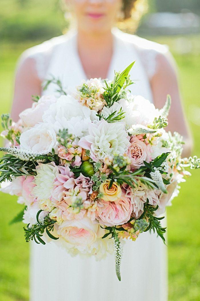 Claxton Farm Wedding In North Carolina | Photo By Blue Bend Via MountainsideBride.com