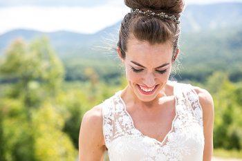 Sunday River Wedding Maine | Anne Skidmore Photography | Via MountainsideBride.com