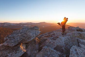 11 Camping Engagment Weekend | Bergreen Photography | Via MountainsideBride.com