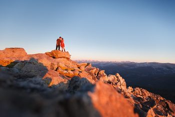 12 Camping Engagment Weekend | Bergreen Photography | Via MountainsideBride.com