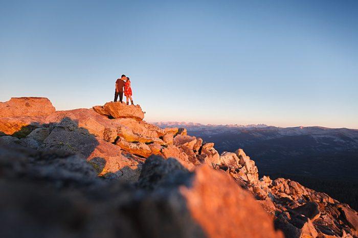 12 Camping Engagment Weekend   Bergreen Photography   Via MountainsideBride.com