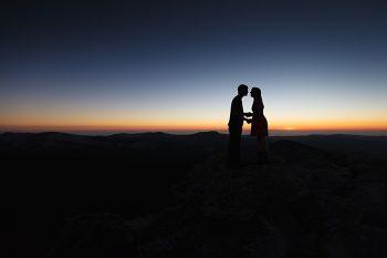 14 Camping Engagment Weekend | Bergreen Photography | Via MountainsideBride.com