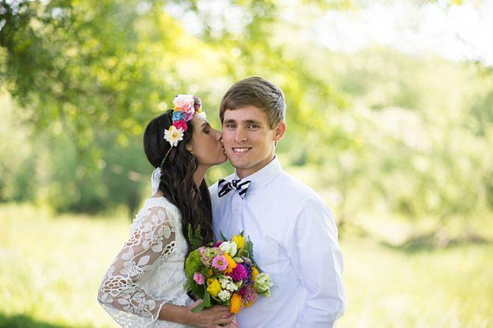 Southern Mountain Wedding Inspiration Laura Barnes Photo