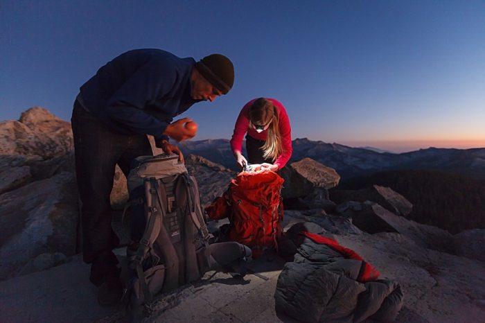 17 Camping Engagment Weekend   Bergreen Photography   Via MountainsideBride.com
