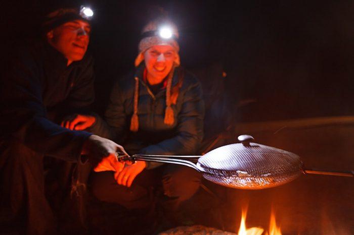 19 Camping Engagment Weekend   Bergreen Photography   Via MountainsideBride.com