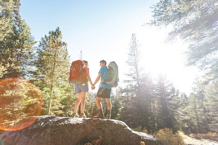 2 Camping Engagment Weekend   Bergreen Photography   Via MountainsideBride.com