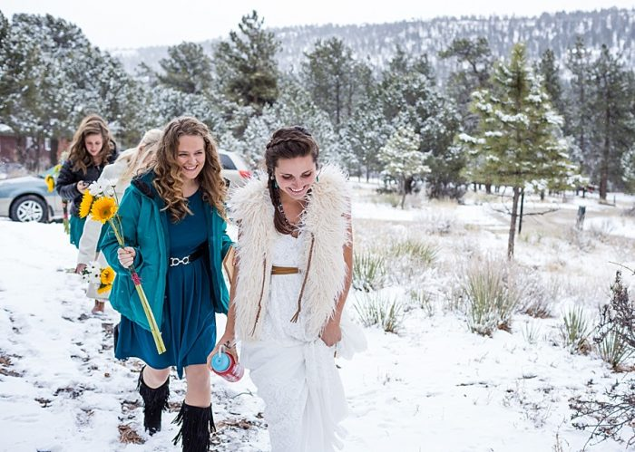 Deer Valley Ranch Colorado Wedding | Mary Brunst Photography | Via MountainsideBride.com