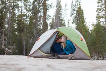 21 Camping Engagment Weekend | Bergreen Photography | Via MountainsideBride.com