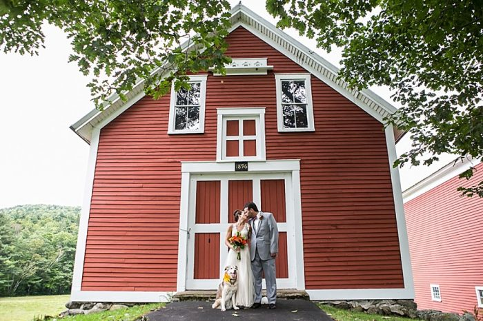 Sunday River Wedding Maine | Anne Skidmore Photography | Via MountainsideBride.com