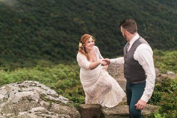 Asheville Vow Renewal   Carolyn Marie Photography   Via MountainsideBride.com