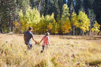 27 Camping Engagment Weekend | Bergreen Photography | Via MountainsideBride.com