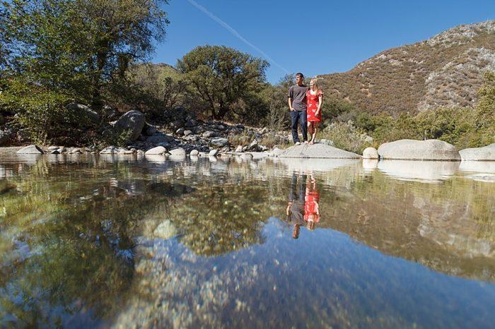 29 Camping Engagment Weekend   Bergreen Photography   Via MountainsideBride.com