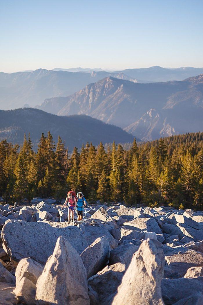 4 Camping Engagment Weekend   Bergreen Photography   Via MountainsideBride.com