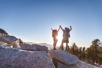 6 Camping Engagment Weekend | Bergreen Photography | Via MountainsideBride.com
