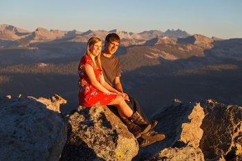 8 Camping Engagment Weekend | Bergreen Photography | Via MountainsideBride.com
