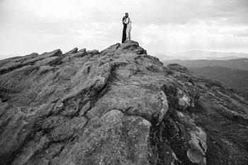 Grandfather Mountain Engagement   Rivkah Fine Art Photography   Via MountainsideBride.com