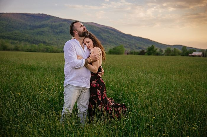 Grandfather Mountain Engagement | Rivkah Fine Art Photography | Via MountainsideBride.com