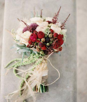 4 Pomegranate Sparkler Winter Wedding Cocktail