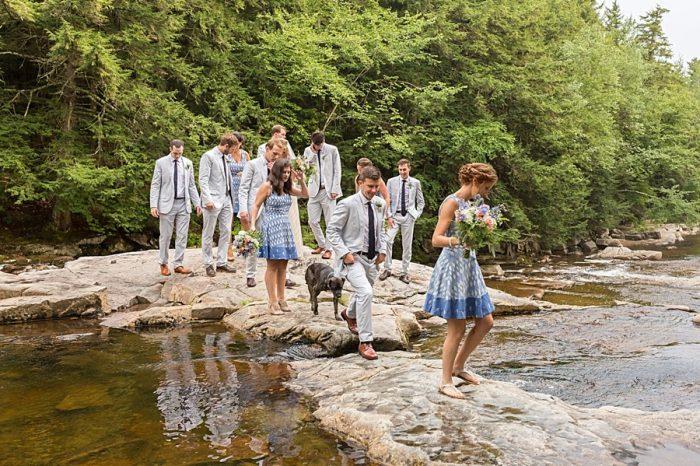 9 Eagle Mountain House New Hampshire Mountain Wedding | Anne Lee Photography | Via MountainsideBride.com